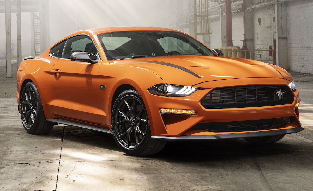 2020 Mustang Paint Colors